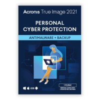 Backup and Repair: Acronis True Image 2021 1PC / MAC | One-time purchase | 3 months. antimalware protection