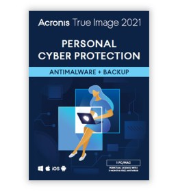 Acronis True Image 2021 1PC / MAC | One-time purchase | 3 months. antimalware protection