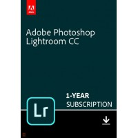 Adobe Lightroom 6: Adobe Lightroom Creative Cloud Multi-Language 1 Gebruiker 1Jaar 1TB cloudopslag