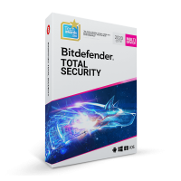 Security: Bitdefender Total Security Multi-Device 2019 3-Devices 1year