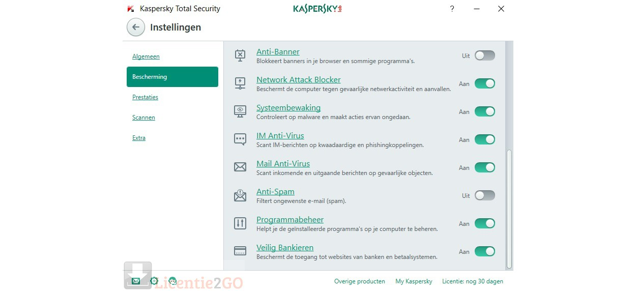 Kaspersky Total Security 2019 3Devices 1year