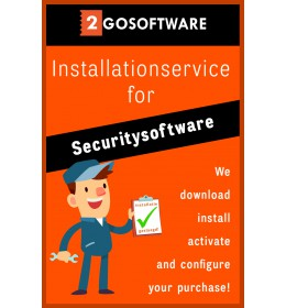 Installation service - Help with installation (all-in) - Security software