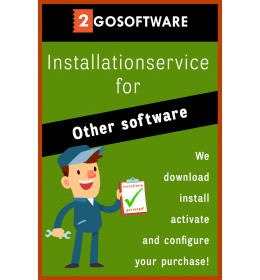 Installationservice | We'll help you install (all-in) | Other software
