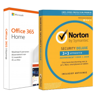 Renew Office 365? Choose 2GOSoftware: Voordeelbundel: Office 365 Home + Norton Security Deluxe 5 devices 1 year
