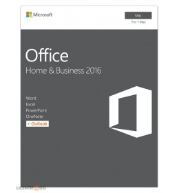 Microsoft Office for Mac 2016 Home & Business 1Mac