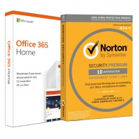 Office products: Voordeelbundel: Office 365 Home 5-devices + Norton Premium 10-devices