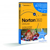 Total Security: Norton 360 Deluxe | 5Apparaten - 1Jaar | Windows - Mac - Android - iOS | 50Gb Cloud Opslag