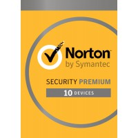 Security: Norton Security Premium 2021 - 10-Devices + 25GB Backup 1year