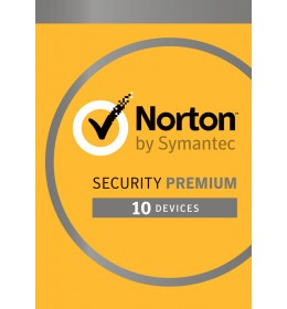 Norton Security Premium 2021 - 10-Devices + 25GB Backup 1year