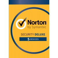 Total Security: Norton Security Deluxe 5-Devices 1year 2021 -Antivirus included- Windows | Mac | Android | iOS