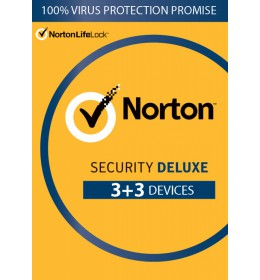 Norton Security Deluxe 6 dispositivi 1 anno 2021 -Antivirus incluso - Windows | Mac | Android | iOS