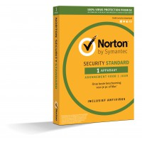 Total Security: Norton Security Standaard | 1 Apparaat | 1jaar | 2020