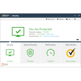 Security: Norton Security Deluxe 5-Devices 1year 2021 -Antivirus included- Windows | Mac | Android | iOS