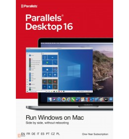 Parallels Desktop 16 for Mac | One-time purchase | 1 installation