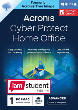 Acronis Cyber Protect Home Office Advanced 2021