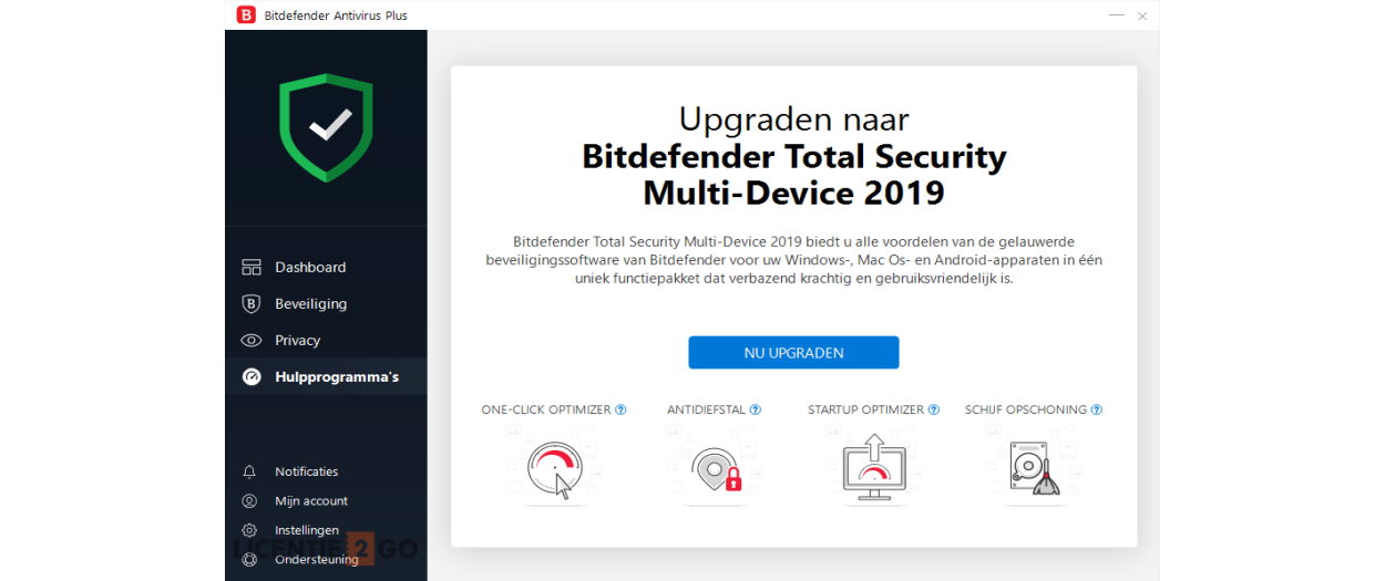 Bitdefender Antivirus Plus 2021 | 5PC | 1jaar | Windows 10, 8, 7
