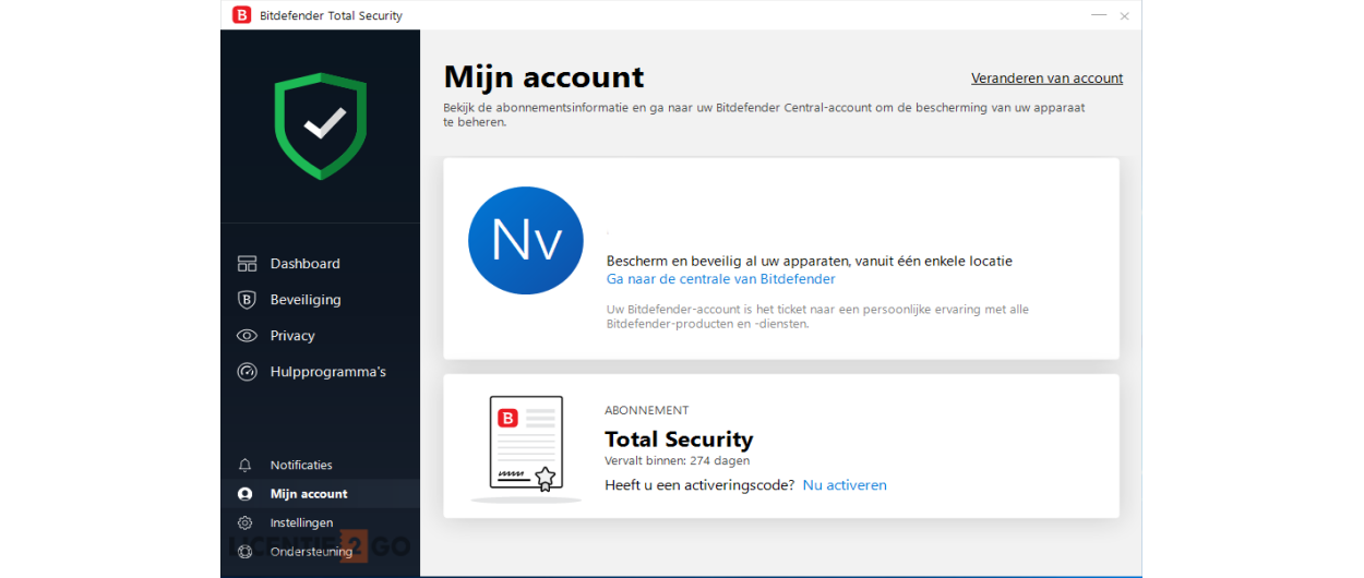 Bitdefender Total Security 2021 | 5Apparaten - 1jaar | Windows - Mac - Android - iOS