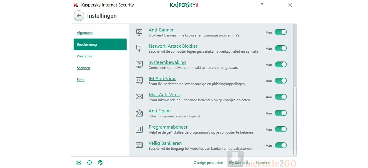 Kaspersky Internet Security  2021 | 1Device - 1year