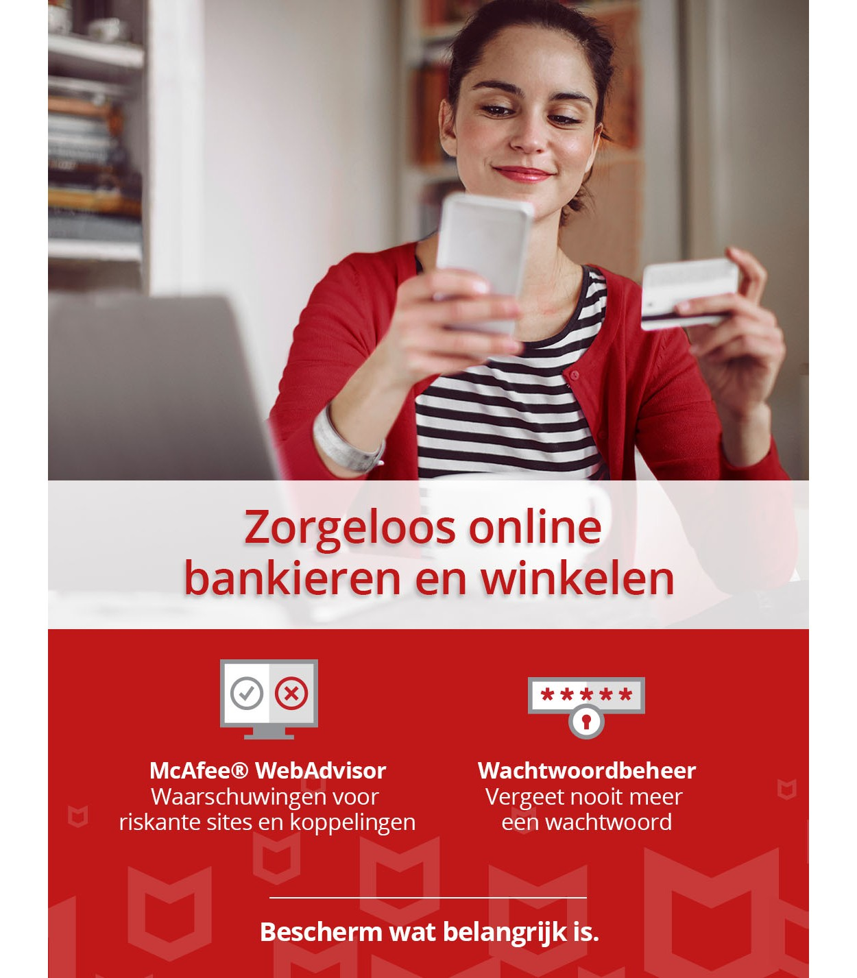 McAfee Total Protection 2021 | 3Apparaten - 1jaar | Windows - Mac - Android - iOS