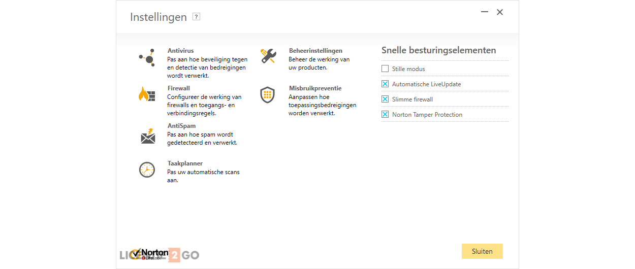 Norton Security Standard 2021 | 1 Installatie | 1 Jaar | Windows | Mac | Android | iOS