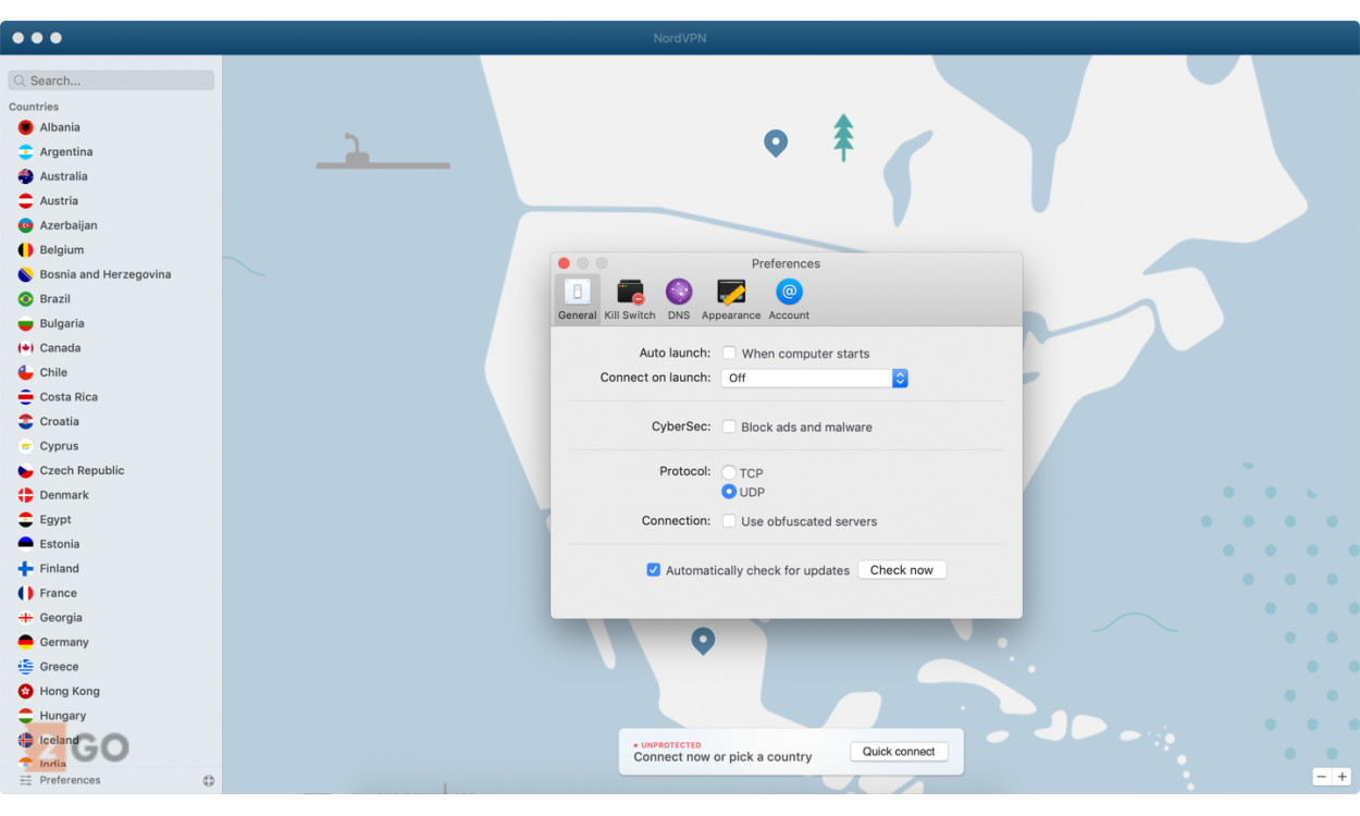 NordVPN 6 devices