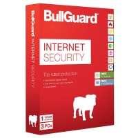 Ativirus : BullGuard Internet Security 3PC 1 anno