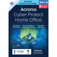Backup: Acronis Cyber Protect Home Office Premium 2022| 1-PC | 1-Jaar | 1 TB cloud back-up