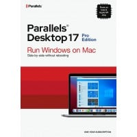Windows on your Mac: Parallels Desktop 17 PRO | 1 Year | Home User & Professionals | 1 Installation