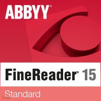 PDF processing: ABBYY FineReader 15 Standard 1PC WIN