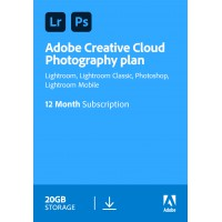 Adobe deals: Adobe Photography Plan (Photoshop CC + Lightroom CC) | 1 User | 1year | 20GB cloudstorage