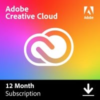 Multimedia: Adobe Creative Cloud Individual (alle apps) | Abonnement | 1Jaar | 100GB Cloud
