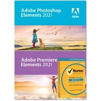 Adobe Photoshop Elements + Premiere Elements 2021 | Meertalig | Windows | (+ gratis Antivirus)