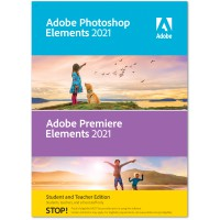 Adobe Photoshop + Premiere Elements 2021 | Windows | Multilanguage | Student & Teacher edition