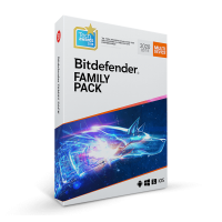 Security: Bitdefender Family Pack 2021 3years 15-Devices