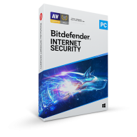 Internet Security: Bitdefender Internet Security 2021 1PC 1year