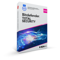 Total Security: Bitdefender Total Security 2021 | 3Apparaten - 1jaar | Windows - Mac - Android - iOS