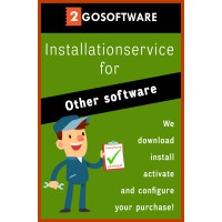 Installation: Installationservice | We'll help you install (all-in) | Other software