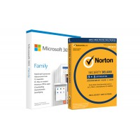 Office: Voordeelbundel: Office 365 Home + Norton Security Deluxe 5 devices 1 year