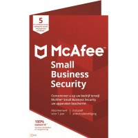 Business IT Security: McAfee Small Business Security 2021 5 Devices 1year