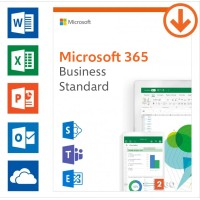 Office 365 Business & Office 365 Enterprise: Microsoft 365 Business Standard | Jahresabonnement | 1Benutzer | 15 Geräte