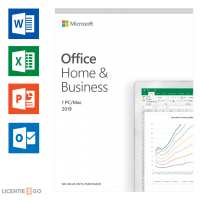 Microsoft Software: Microsoft Office 2019 Home & Business Windows + Mac