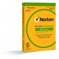 Total Security: Norton Security Standard 2021 | 1 Installatie | 1 Jaar | Windows | Mac | Android | iOS