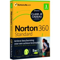 Norton 360 Standaard | 1-Apparaat | 1-Jaar | 2021 | Windows | Mac | Android | iOS | 10Gb Cloud Opslag