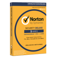 Total Security: Norton Security Deluxe | 5-Geräte | 1-Jahr | 2021 - Virenschutz inklusive - Windows | Mac | Android | iOS