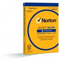 Total Security: Norton Security Deluxe 5-Apparaten 1jaar 2021