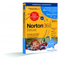 VPN + Antivirus: Norton 360 Deluxe | 5Apparaten - 1Jaar | € 10,- cashback | Multi-Device