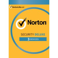 Internet Security: Norton Security Deluxe 3-Devices 1year 2021 - Antivirus Included - Windows | Mac | Android | iOs