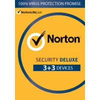 Total Security: Norton Security Deluxe | 6-Devices | 1year | 2021 | Antivirus Included | Windows | Mac | Android | iOs