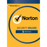 Total Security: Norton Security Deluxe | 5-Devices | 1-Year | 2021 - Antivirus Included - Windows | Mac | Android | iOS