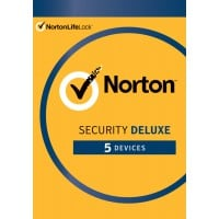 Internet Security: Norton Security Deluxe | 5-Devices | 1-Year | 2021 - Antivirus Included - Windows | Mac | Android | iOS